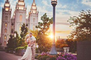 slc sunset wedding